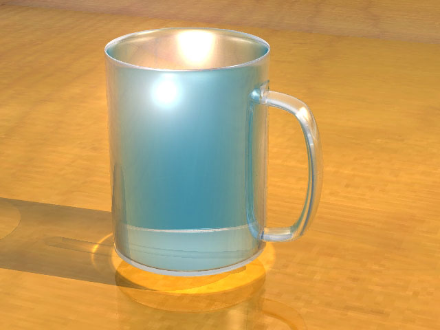 Glass Cup 3d model jpeg image