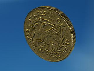 Монеты 3d модель медаль за сочи